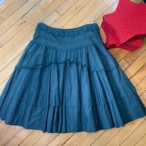 Anthropology skirt size 8 ODILLE HUNTER GREEN